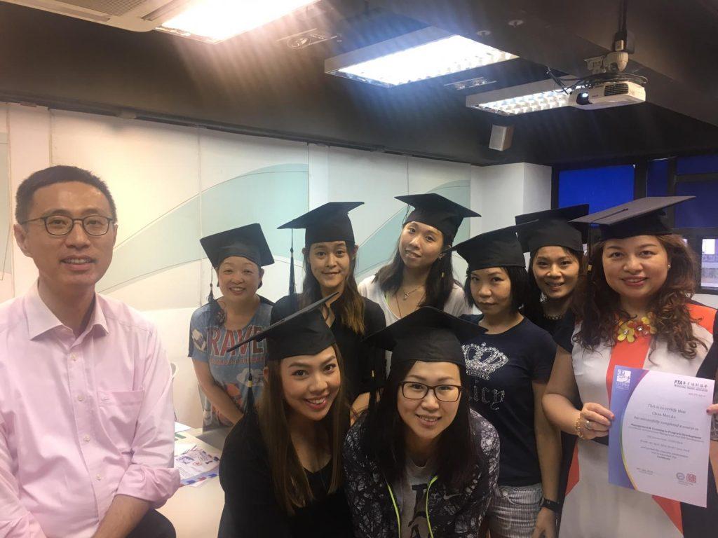 國際專業培訓及評審高級文憑 合照1